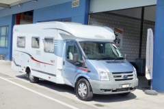 Carado T345, Ford Transit 2.2TDCI 130PS Teilintegriert