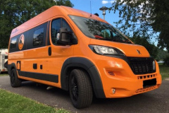 Van Tourer 600 L Aktiv, orange Kastenwagen