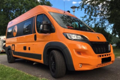 Van Tourer 600 L, orange Kastenwagen