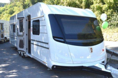 Tabbert Cellini 750htd SLIDE OUT Caravane