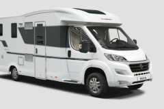 Adria Matrix Plus 670 SL Teilintegriert
